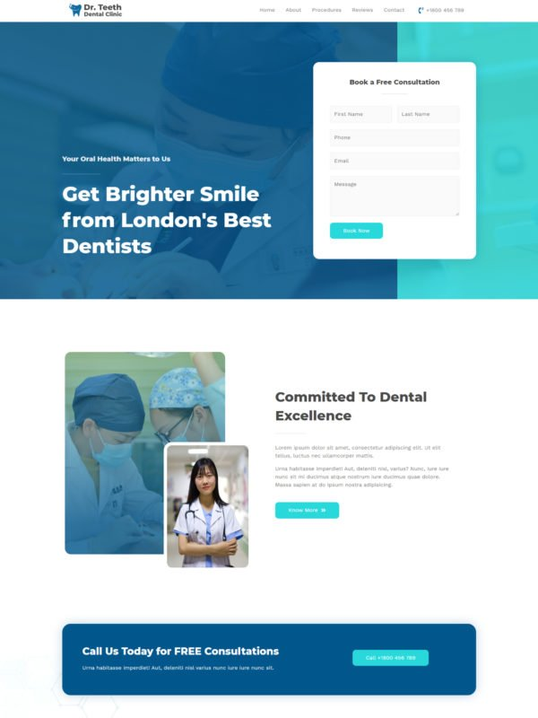 dental-clinic-homescreen